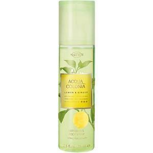 4711 Acqua Colonia Unisexdüfte Lemon & Ginger  Body Spray  75 ml