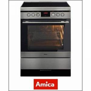 AMICA Induktions-Standherd 60 cm SHI 11674 E, A, AMICA Silber