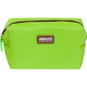 Absolute New York Accessoires Kosmetiktaschen  Green Microfiber Cosmetic Bag  1 Stk.
