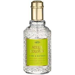 4711 Acqua Colonia Unisexdüfte Lime & Nutmeg  Eau de Cologne Spray  50 ml