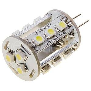 LEDGalaxy LED Leuchtmittel G4 mit 15 SMD LED warmweiß