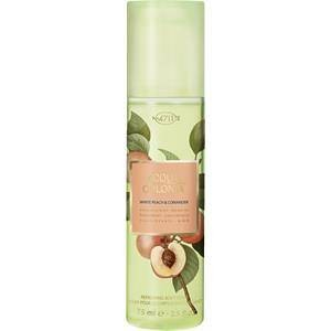 4711 Acqua Colonia Unisexdüfte White Peach & Coriander  Refreshing Body Spray  75 ml
