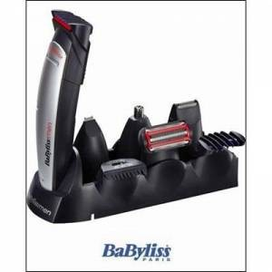 BaByliss Multifunktionstrimmer, E837E, 10 in 1, Rot