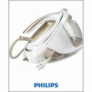 Philips Dampfbügelstation GC9640/60 PerfectCare Elite Silence, 7 Bar, 1,8l Wassertank, 2400 Watt, PHILIPS Gold