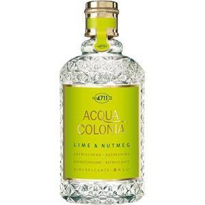 4711 Acqua Colonia Unisexdüfte Lime & Nutmeg  Eau de Cologne Splash & Spray  170 ml