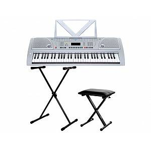 FunKey 61 Keyboard SET inkl. Keyboardständer + Bank