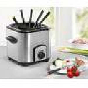 Mini Fritteuse/ Fondue Set, 1,2 Liter, 900 Watt