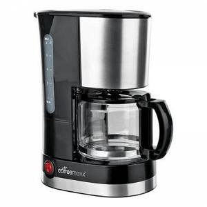 COFFEE MAXX Filterkaffeemaschine Single, 0,6l Kaffeekanne , Schwarz